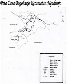 Peta Desa Bogoharjo Ngadirojo Pacitan