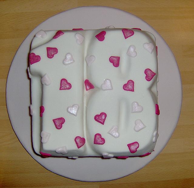 Birthday Cake: Birthday Cakes For Girls 18th