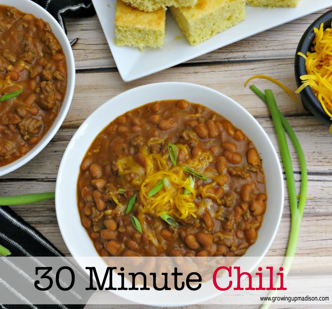 30-Minute Chili | AnnMarie John