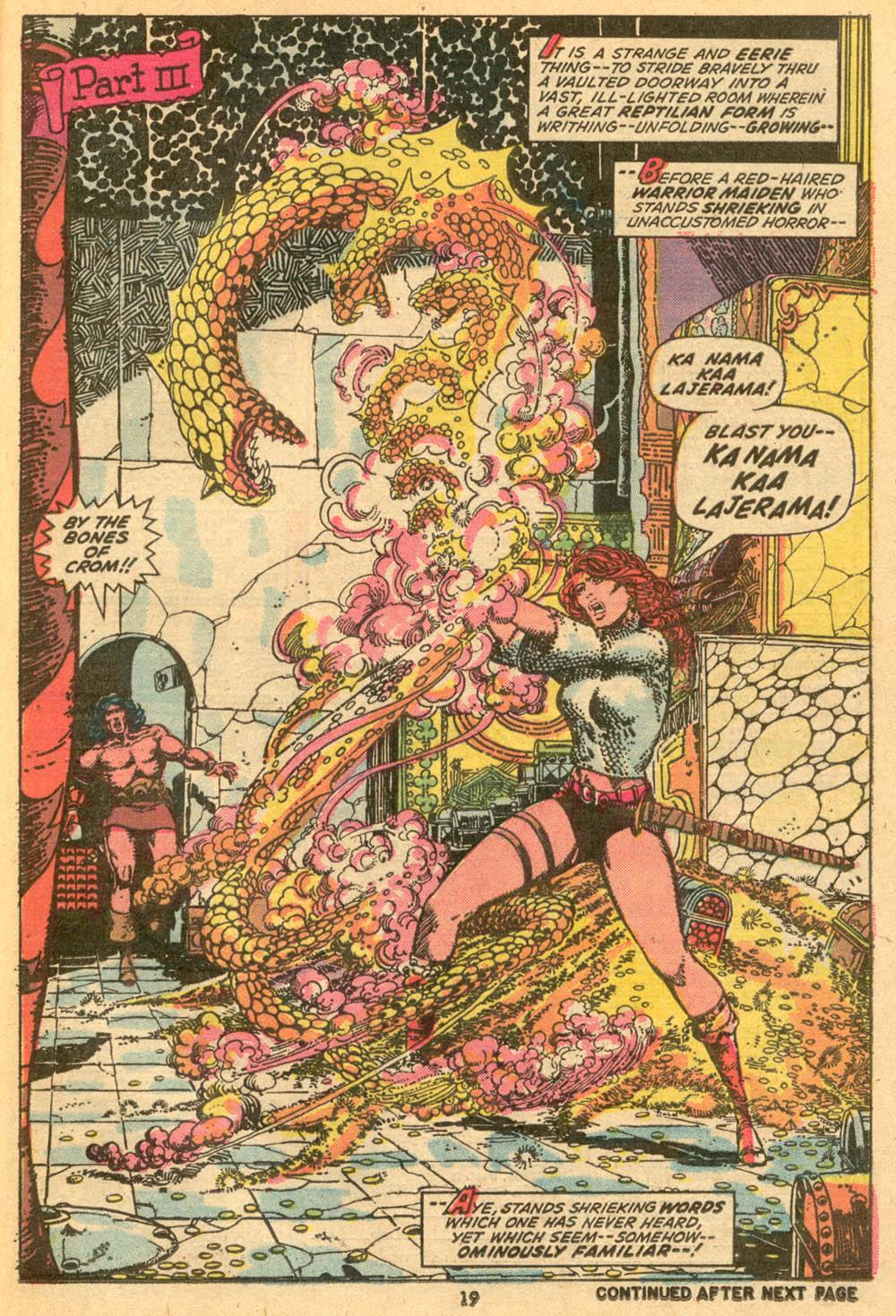 Conan the Barbarian (1970) Issue #24 #36 - English 15