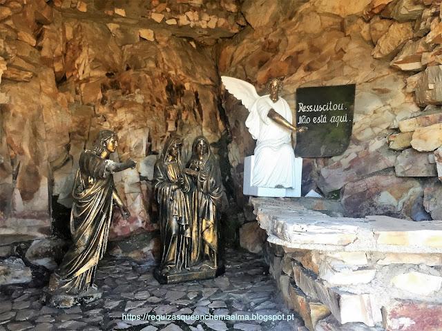 Monumento  Mistérios do Rosário Serra da Marofa
