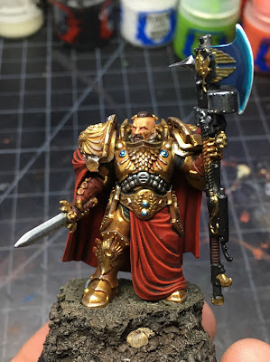 Adeptus Custodes Shield Captain WIP