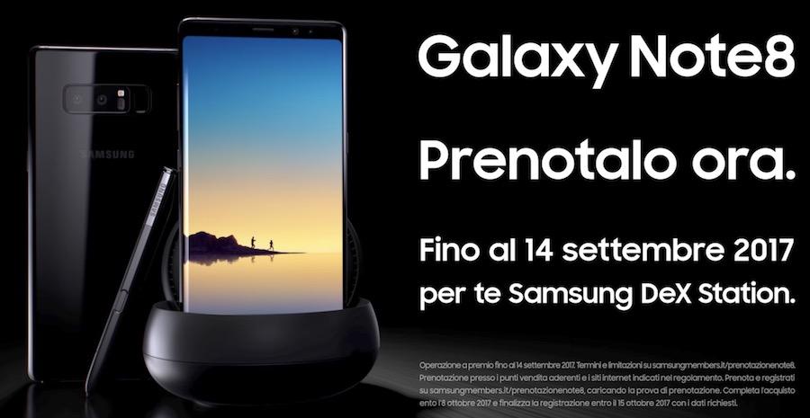 Canzone Pubblicità Samsung Galaxy Note 8, spot Prenotalo subito