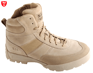 5.11 Tactical HRT Advance Coyote Brown Side Zip Boots