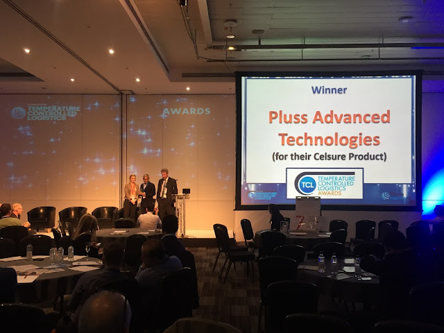 Pluss the winner of Temperature Controlled Logistics Awards-