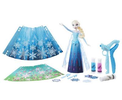 JUGUETES - DOHVINCI : Frozen Kit Deco Moda Frozen con Muñeca de Elsa Diseña la falda | Manualidades Producto Oficial 2016 | Hasbro  B6168 | A partir de 6 años Comprar en Amazon España