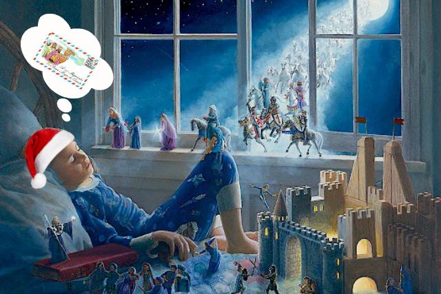 Carta a los Reyes Magos y a Papa Noel.Plantillas