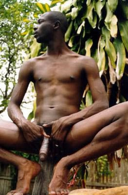 naked african penis