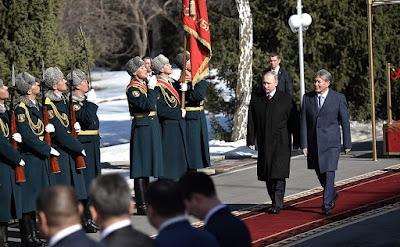 President Putin, President Atambayev.