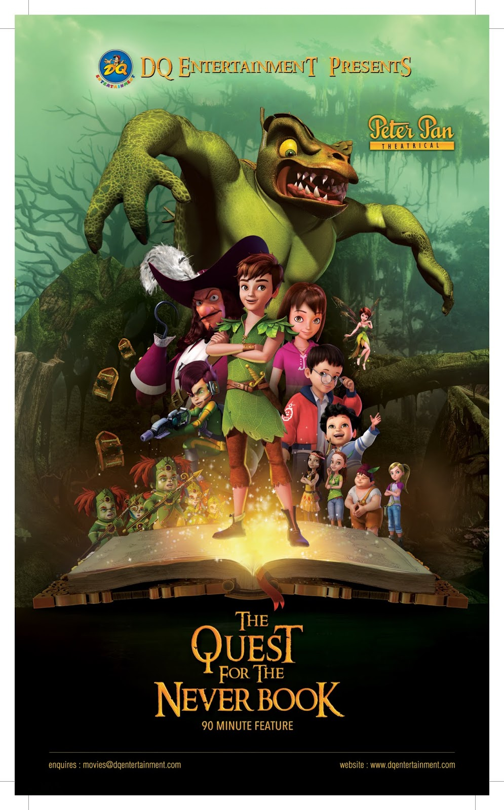 ROSARIO FILMS  Peter Pan  The Quest for the Never Book e457a18d86c
