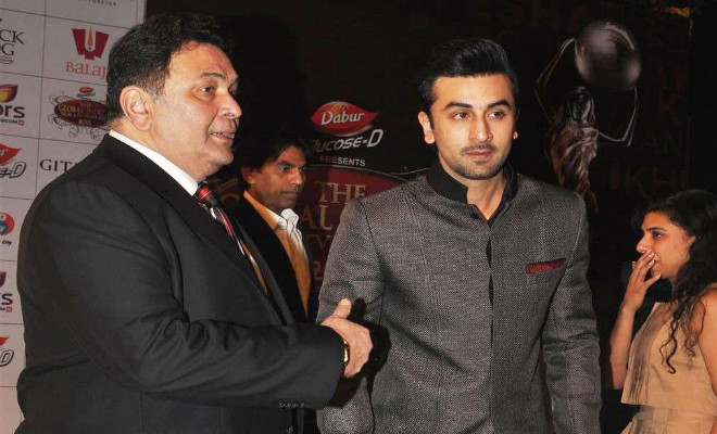 Rishi Kapoor fell on Rajkumar Hirani's mother's feet for his son: