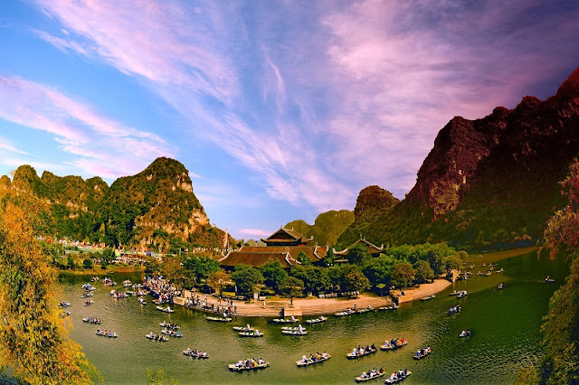 Trang An for Honeymoon packages