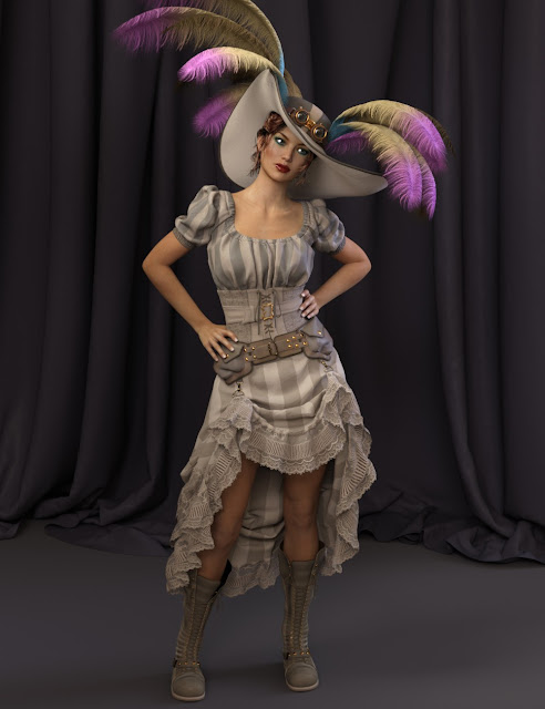 Watch My Charm for Genesis 3 Female