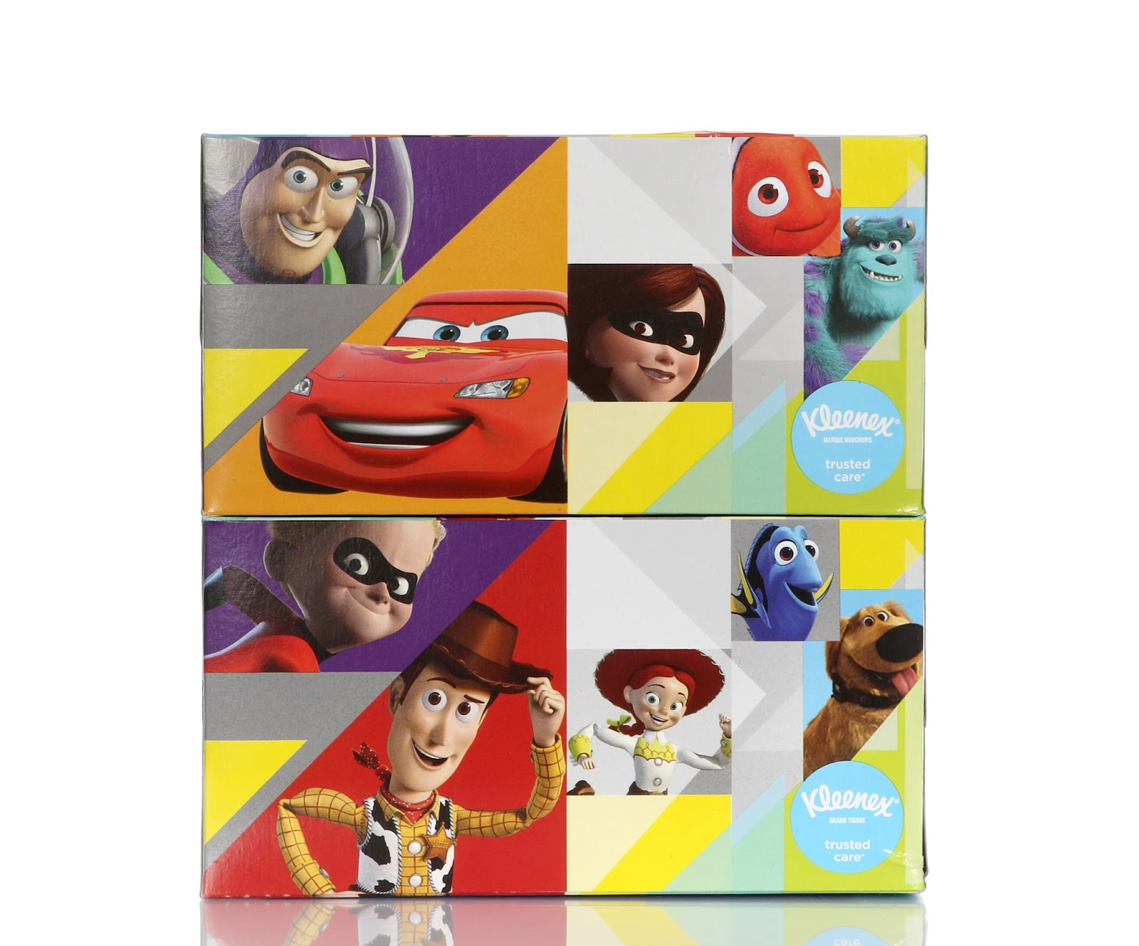 disney pixar characters kleenex tissues