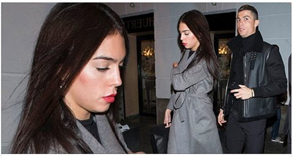 Cristiano Ronaldo and girlfriend go out on dinner date