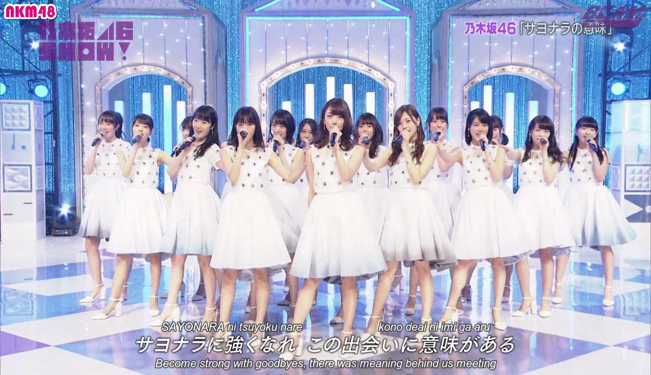 AKB48 SHOW! ep142 (Nogizaka46 SHOW!) English Subtitles - Beam Subs