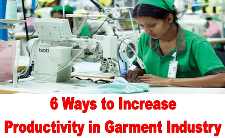 How to Increase Production in Garment Industry