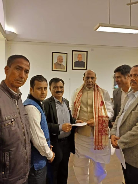 Assam Gorkha Sammelan demands ST status to Gorkhas of Assam meet HM and TAM.