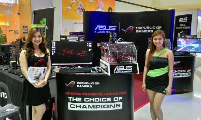 ASUS Booth in SM Davao