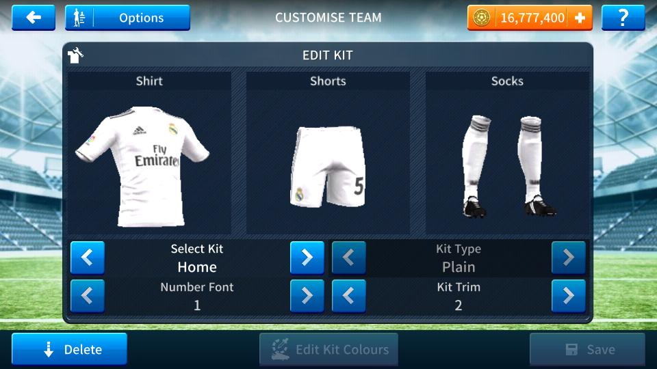 buy online b6f3f 36bdc Dream league soccer url logo real madrid | Real Madrid Logo ...