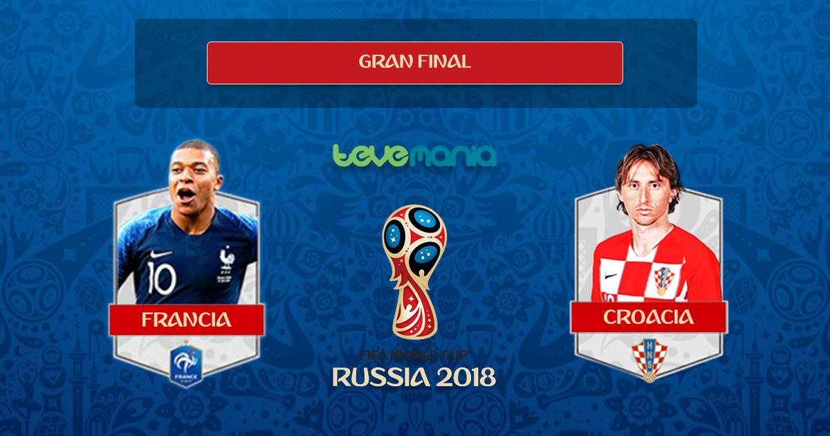 ¡Francia es el nuevo campeón mundial!. Galos ganaron a Croacia 4-2