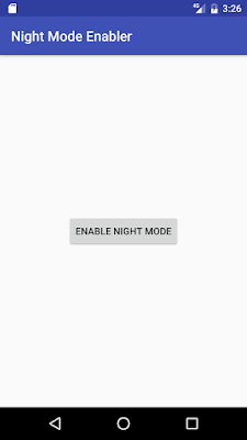 Enable Night Mode On Android Nougat