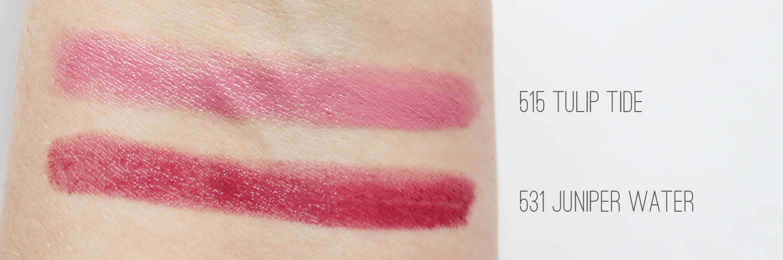 BURT'S BEES | Introducing The New Lipstick Range - Review + Swatches - CassandraMyee