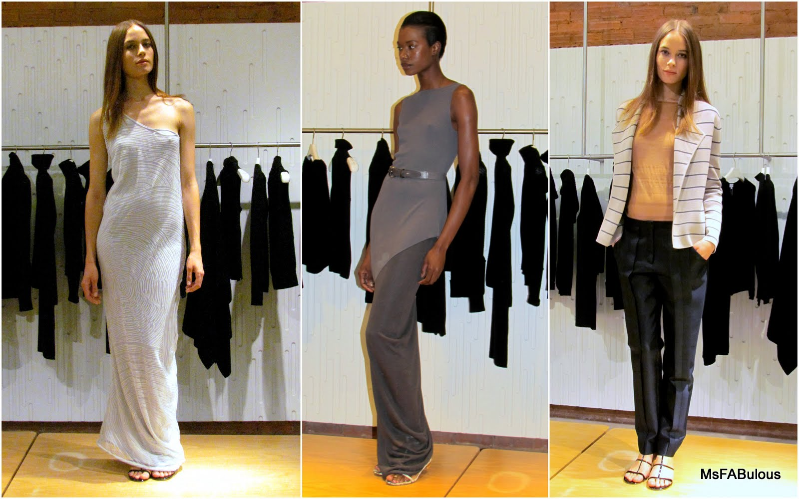 NY FASHION WEEK  TSE Cashmere Spring 2012. When spring and summer come  around 248ff57ae