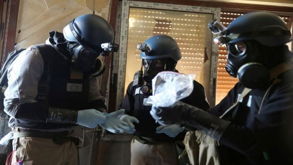 Siria desmiente a EE.UU. sobre uso de armas químicas