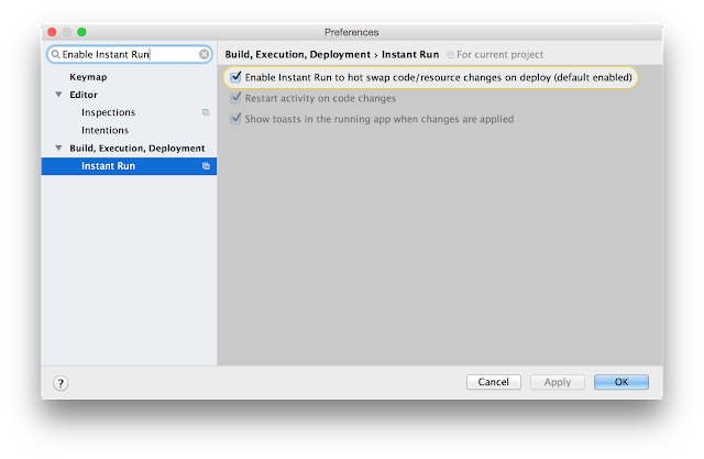 Android Studio 2 0 Preview Available