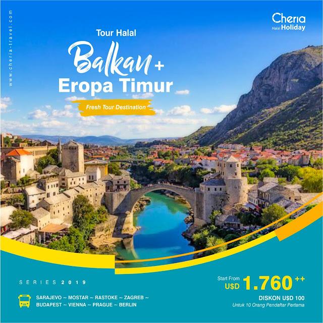 Paket Tour Balkan Eropa Timur