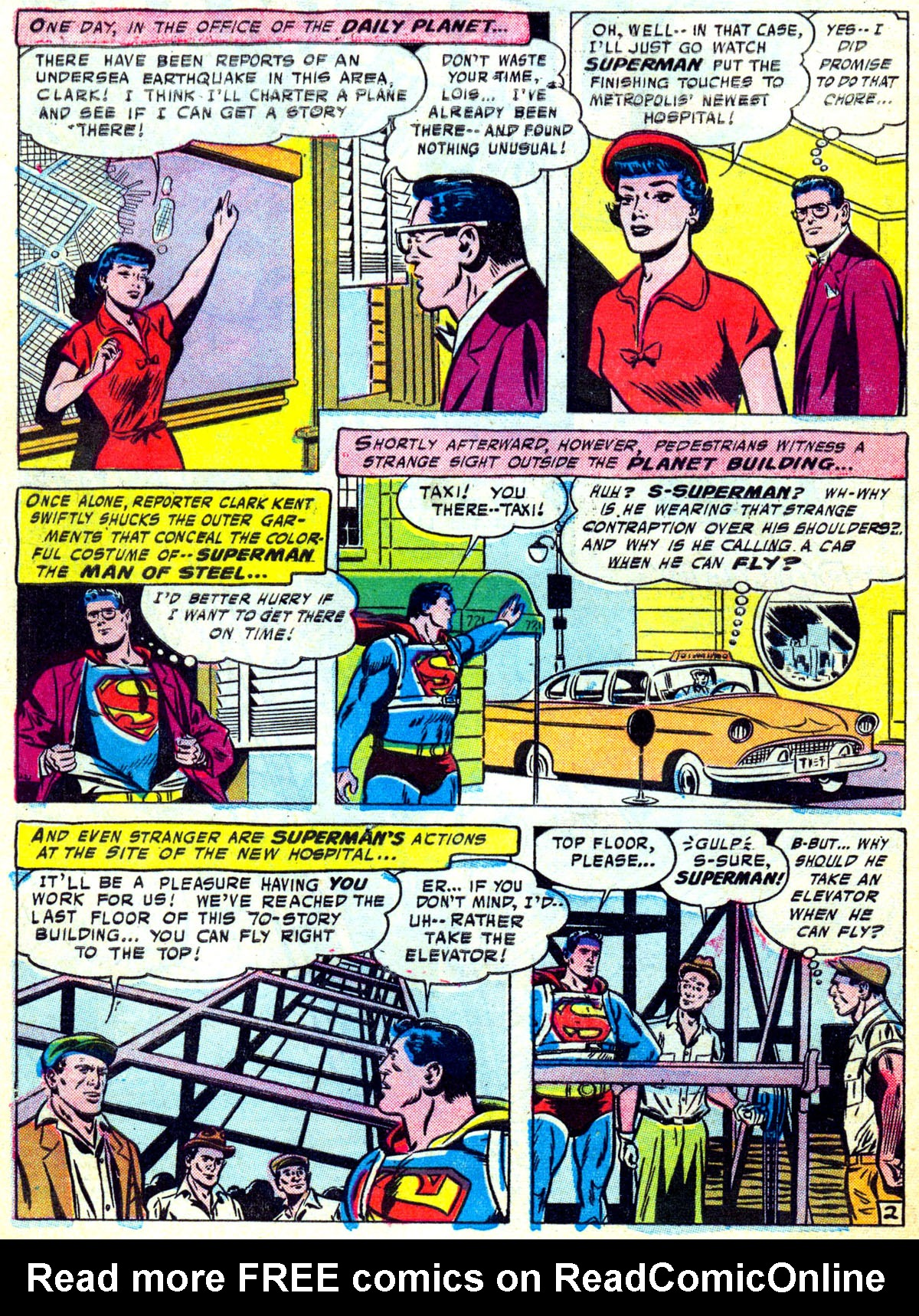 Read online Action Comics (1938) comic -  Issue #230 - 3