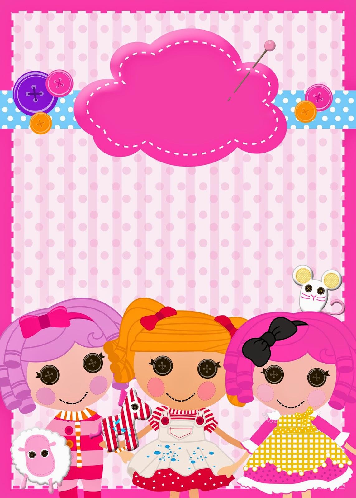 Lalaloopsy Party Invitations 80s theme party invitations – Lalaloopsy Birthday Invitation