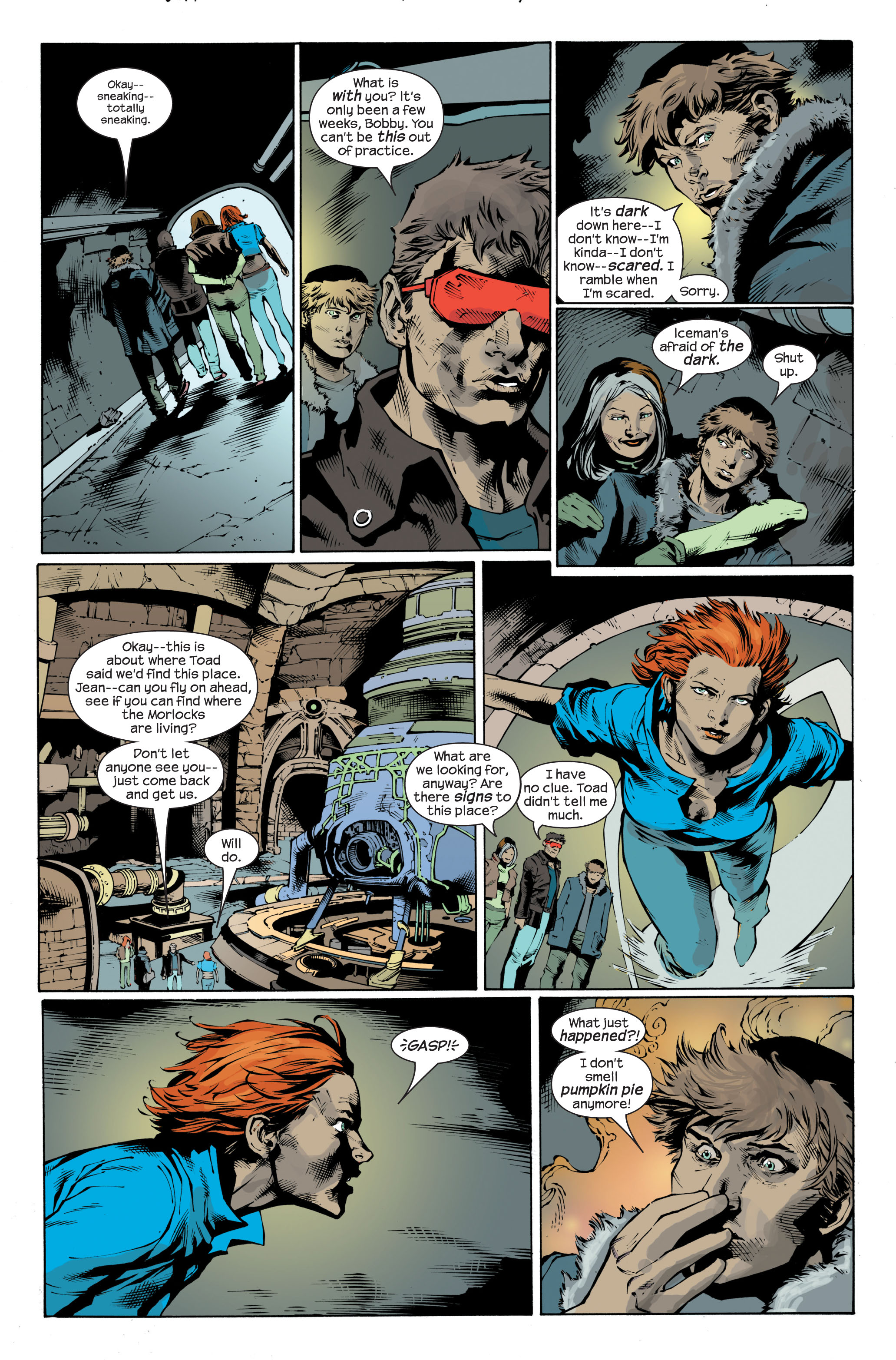 Read online Ultimate X-Men comic -  Issue #83 - 4