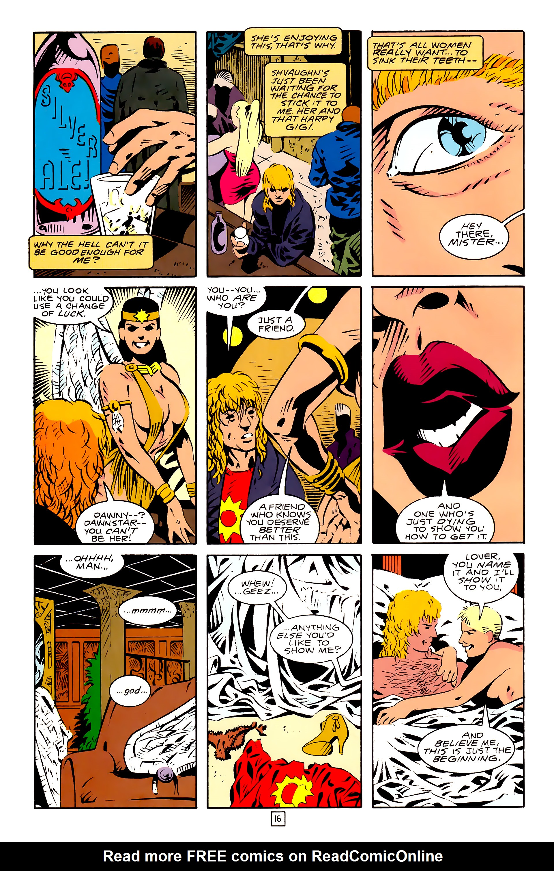 Legion of Super-Heroes (1989) 28 Page 16
