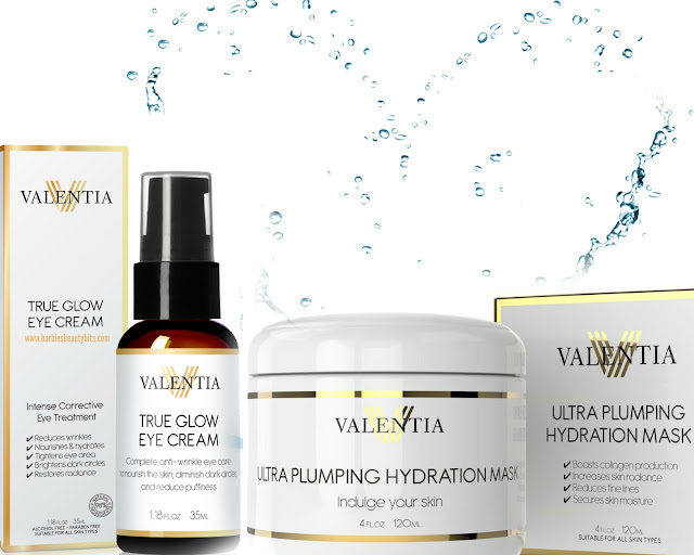 Valentina line the Ultimate Skin Repair & Hydration Combo review by barbies beauty bits
