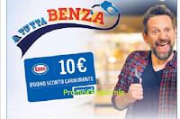 Logo Carrefour ''A tutta Benza'': ricevi buoni carburante da 10€ premio certo e vinci buoni spesa!