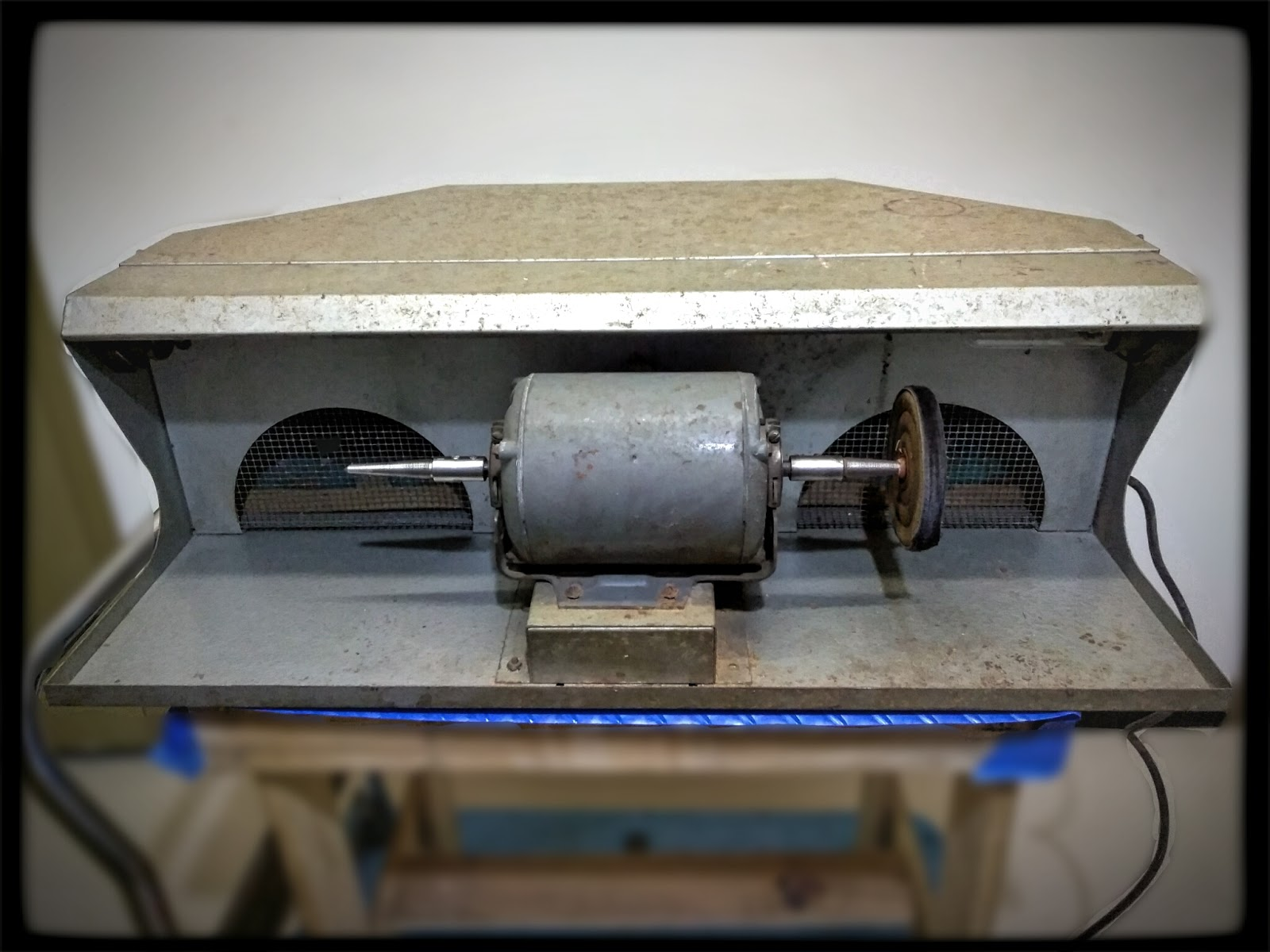 Strange Vintage Dayton Jewelers Buffing Polishing Station Creativecarmelina Interior Chair Design Creativecarmelinacom