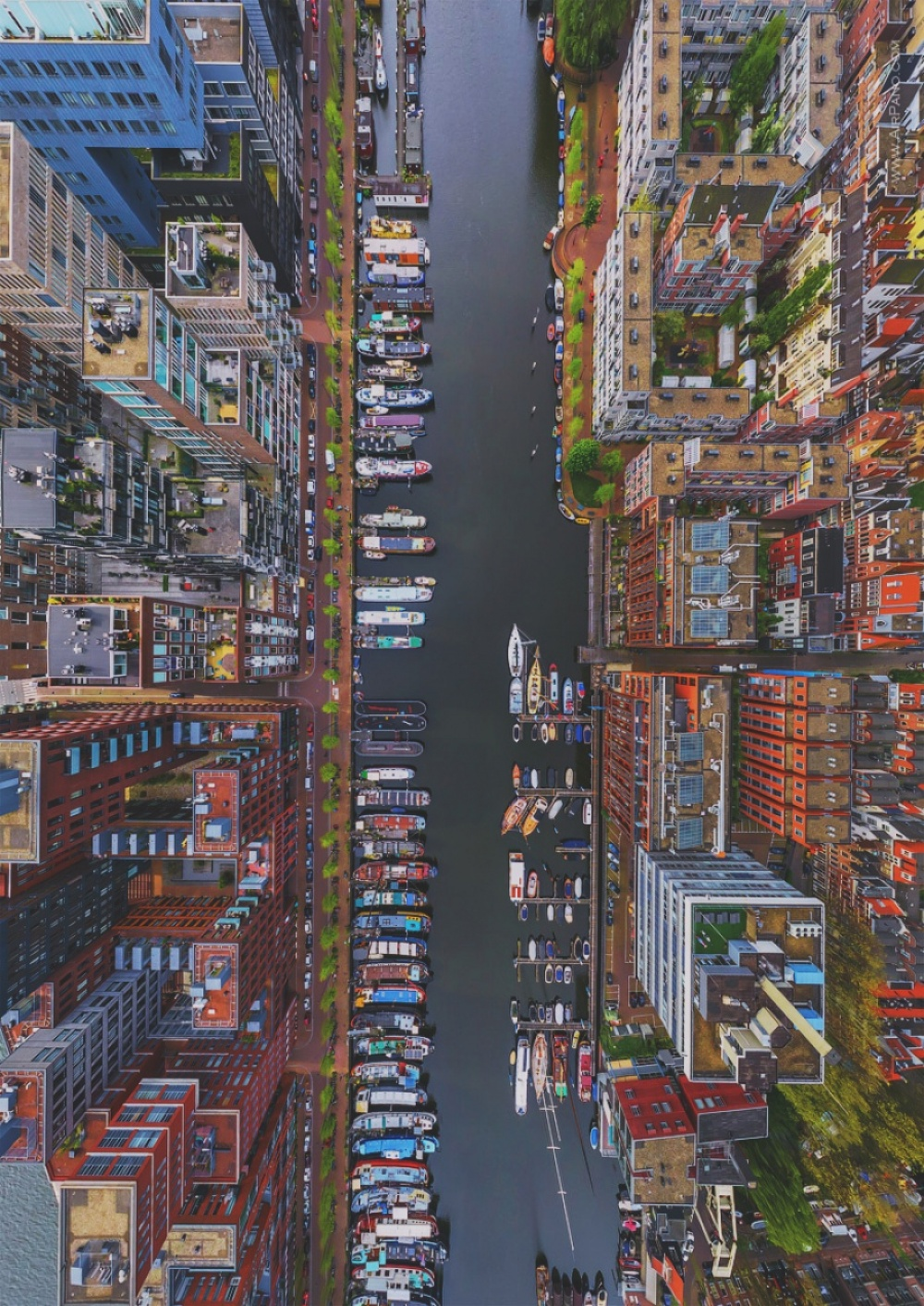The 100 best photographs ever taken without photoshop - Westerdok District, Amsterdam
