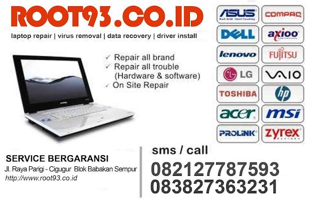 jasa service laptop pangandaran