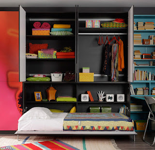 cama plegable armario