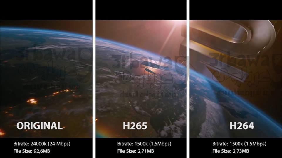 تعرف على خصية H265 او HEVC فى عالم الريسيفرات والدش
