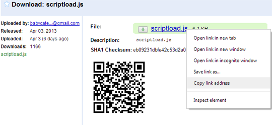 Javascript Download File From Url On Click