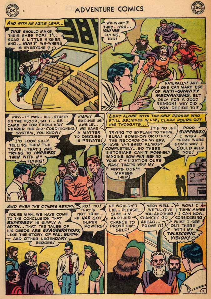 Read online Adventure Comics (1938) comic -  Issue #187 - 9