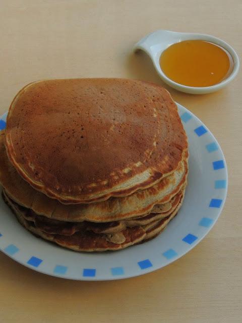 Buckwheat Pancakes, Eggless Buckwheat Pancakes