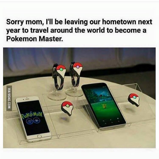 Pokémon Go Memes : Going to be real soon