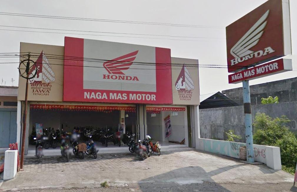 Naga Mas Motor Klaten Layanani Pembelian Motor Karesidenan Solo Raya
