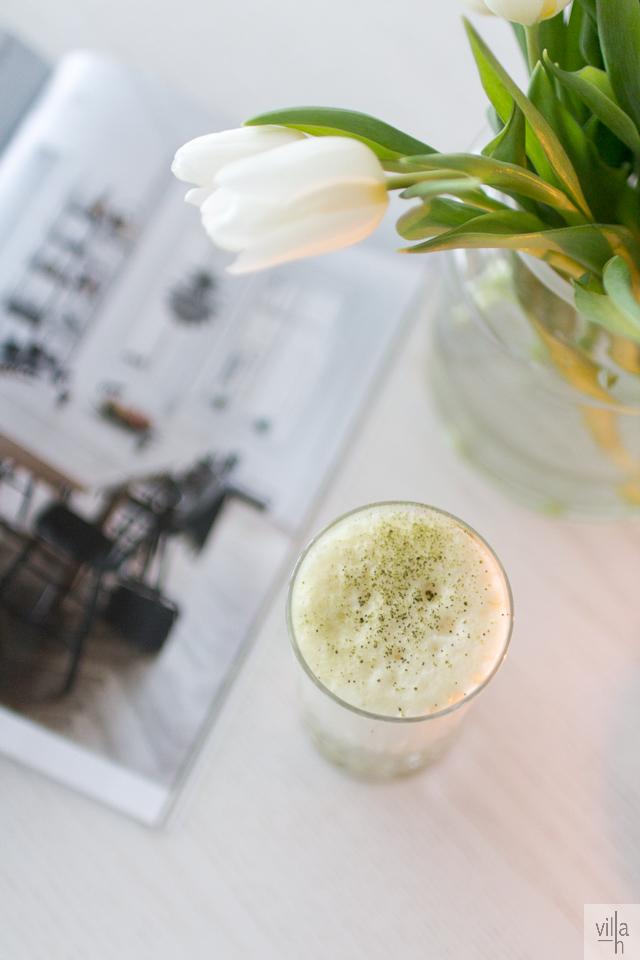 inspiration, matcha latte, sisustus, interior, tulips