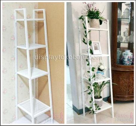 LERBERG Shelf Unit White