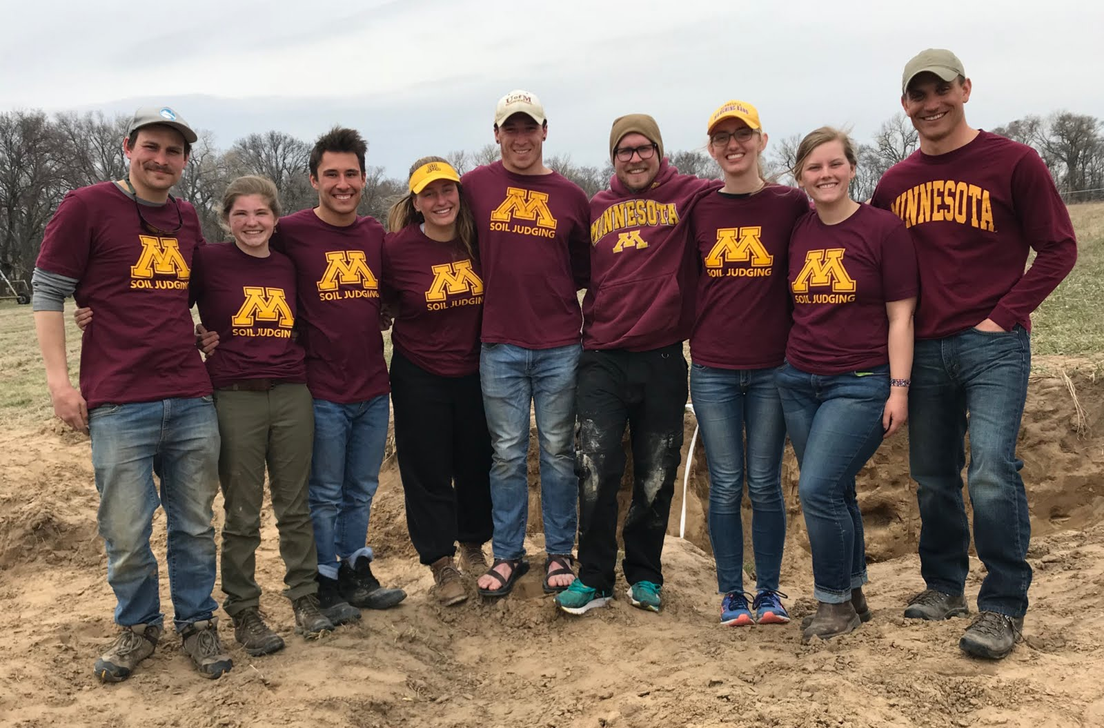 2018 University of Minnesota NACTA Soil Judging Team